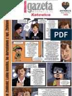 Komiksowa Gazeta Wyborcza Katowice 18.03.2011