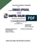 Samtel colour_ PErformance Appraisal