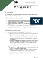 Diesel Filling Guidelines