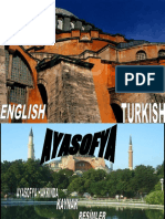 Class Powerpoint on the Hagia Sophia by Gokay at Bilfen Schools, Istanbul, Turkey