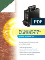 Wall Analyser Brochure ED10310