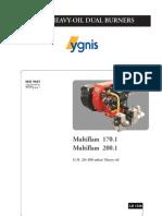 Ygnis Ingl+¬s Multiflam 170.1-200.1