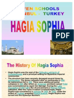 Class Powerpoint on the Hagia Sophia by Zeynep at Bilfen Schools, Istanbul, Turkey