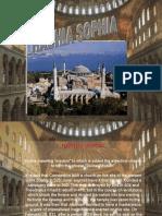 Class Powerpoint on the Hagia Sophia by Emre at Bilfen Schools, Istanbul, Turkey