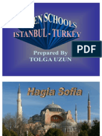 Class Powerpoint on the Hagia Sophia by Tolga at Bilfen Schools, Istanbul, Turkey