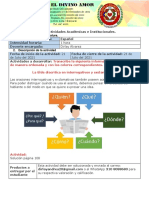 Guía de Actividades Grado 4°-Miércoles 21 de Julio