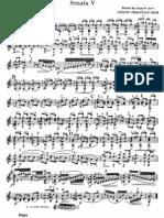 j s Bach Sonata 3 c Major