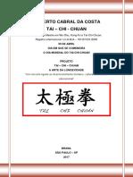 Projeto Tai-chi-chuan - Um Conceito Ligado Ao Desenvolvimento Humano - Gilberto - 2017