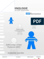 ZZP Barometer rapport (Terminologie), maart 2011