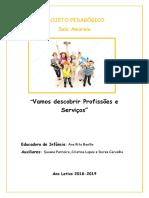 Projeto Pedagógico Sala Amarela 2018-2019