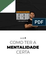 Designer+Vencedor+ +Aula+01