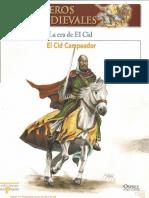 003 Guerreros Medievales La Era Del Cid Osprey Del Prado 2007