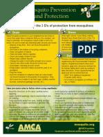 AMCA Fact Sheet