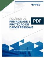 Politica de Privacidade e Protecao de Dados Final
