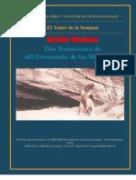 Dos Narraciones de EL Cementerio de los Milodones -  Osvaldo