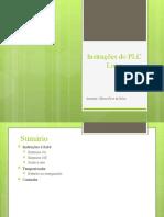 Instruções do PLC Logo