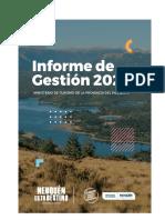 Informe de Gestión 2020 TURISMO
