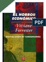 Viviane Forrester - El Horror Economico