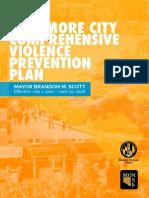 Mayor Scott - Comprehensive Violence Prevention Plan