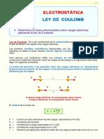 6.2  LEY DE COULOMB
