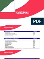 Plantilla Segmentos Serfinanza TARIFAS Julio 2021