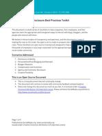 disclosure toolkit