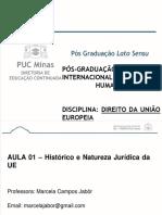 Aulas 1 - Histórico e natureza jurídica-1