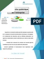 l'Approche Systemique de l'Entreprise(1)