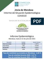 MENDOZA 22jul21 Informe de Situación Epidemiologica