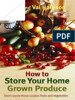 How to Store Your Home Grown Produce - John and Val Harrison