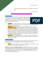 Métodos alternativos de solución de conflictos - Notas de clase