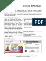 Licencia Peru