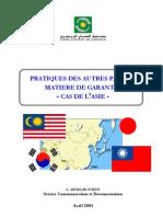 Benchmarking pratiques de garantie en Asie