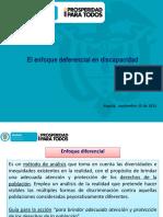 Enfoque diferencial discapacidad