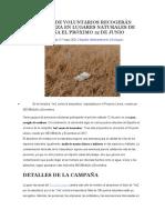Grupos de Voluntarios Recogerán Basuraleza en Lugares Naturales de España El Próximo 12 de Junio