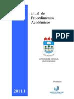 Manual de Procedimentos Academicos - UVA
