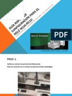 Guía Rápida de CONFIGURACIÓN Para El Relé Noja-rc10