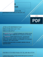 LA LISTA DE REFERENCIAS _UPLA