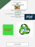 2018 Control de Residuos