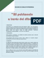 BASES CONCURSO DE DIBUJO PATRIMONIAL