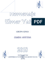 HOMENAJE A ELMER YAIPEN - Grupo Cinco