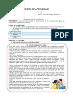 SESIÓN DE APRENDIZAJE COMU 28.04