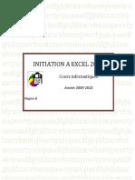 0337 Support de Cours Office Excel 2007