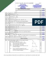 Maths HSC Questions 05 09