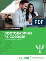 Doctorado Psicologia UNIFE