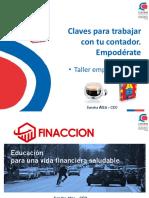 PPT Claves para trabajar con tu contador V12 CDN Talca