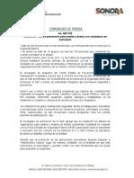23-06-21 Realiza SSP Sonora prevención permanente y directa con ciudadanos en municipios