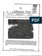 Puddledock Press March 2011