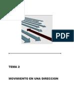 2 - Movimiento en Una Dirección