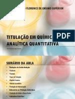 Titulação em Química Analítica